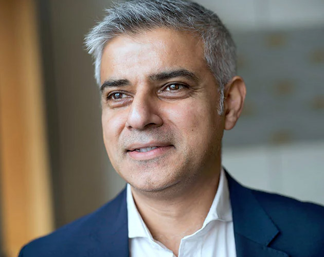 Sadiq Khan for London Mayor | Reed Award Winner for Best European Website