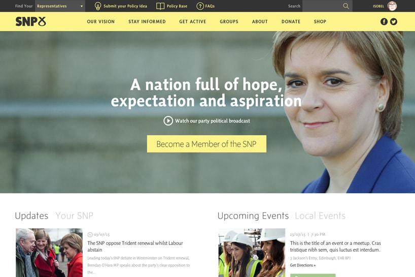 The Scottish National Party <a target='_blank' href='https://www.snp.org'>Check it out.</a>