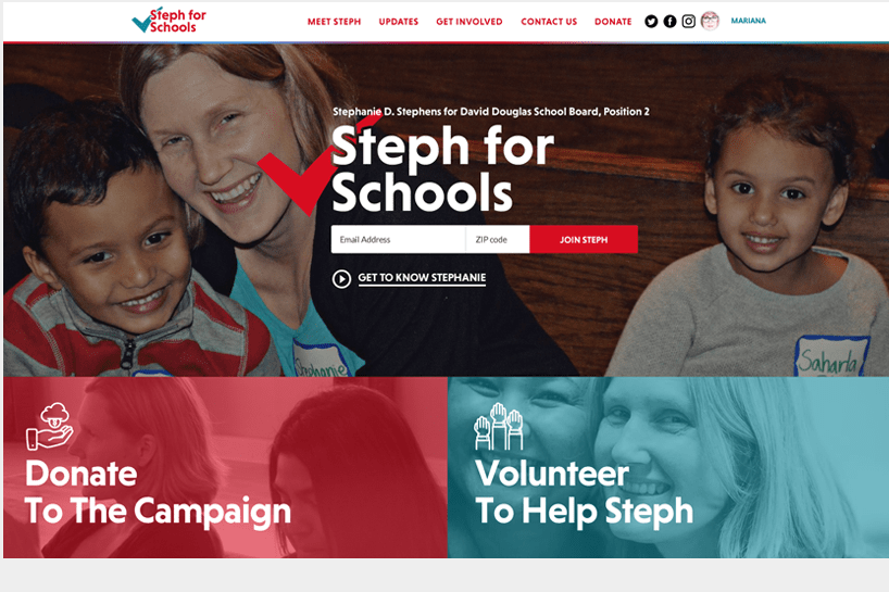 Steph Stephens for David Douglas School Board <a target='_blank' href='http://www.stephforschools.com'>Check it out.</a>