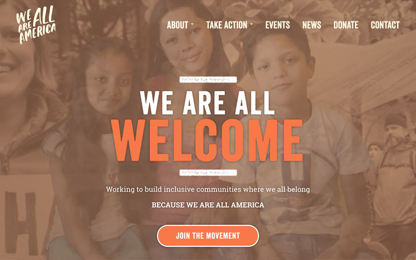 We Are All America <a target='_blank' href='https://www.weareallusa.org'>Visit Website.</a>