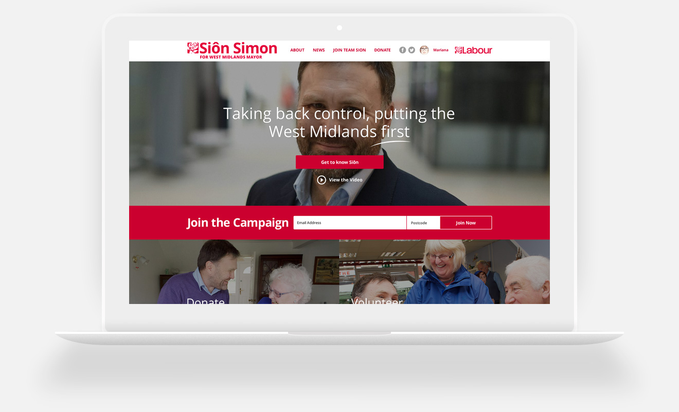 Siôn Simon for West Midlands Mayor