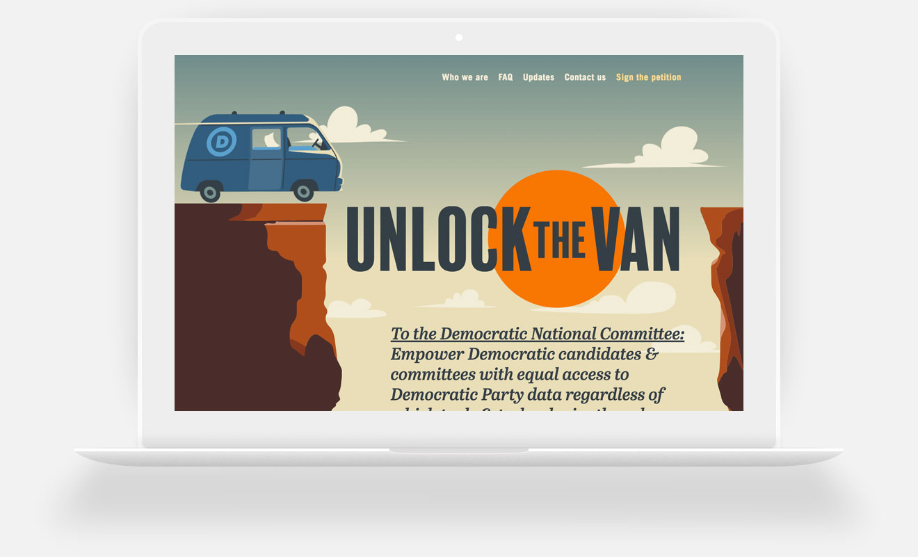 Unlock the Van