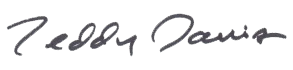 Teddy Signature
