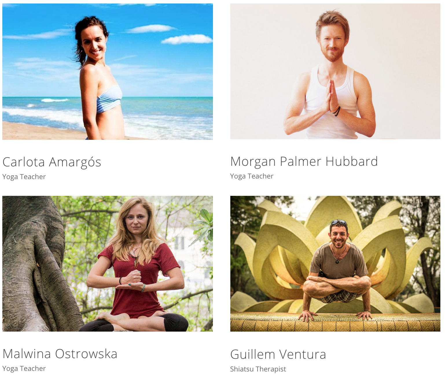 NoWhere Yoga Teachers Bali