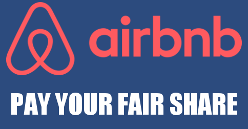 Airbnb: Pay Your Fair Share