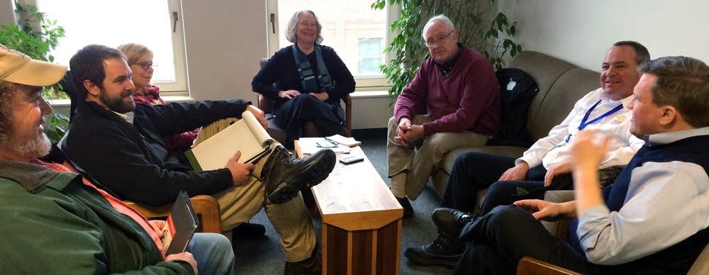 Meeting with Legislators