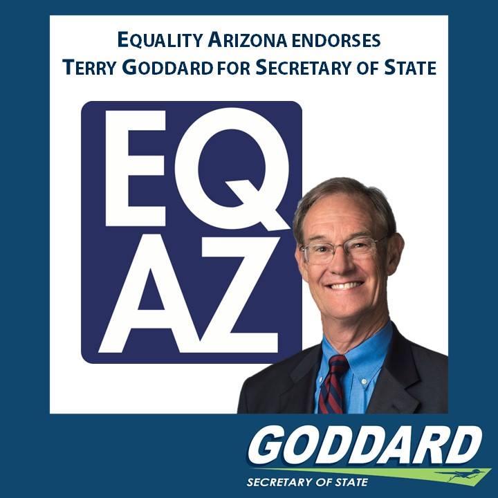 EQAZ endorse Terry Goddard