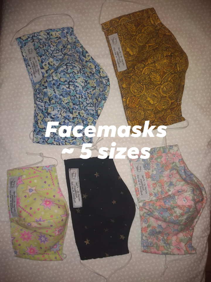 Sew'N by Nerida face masks