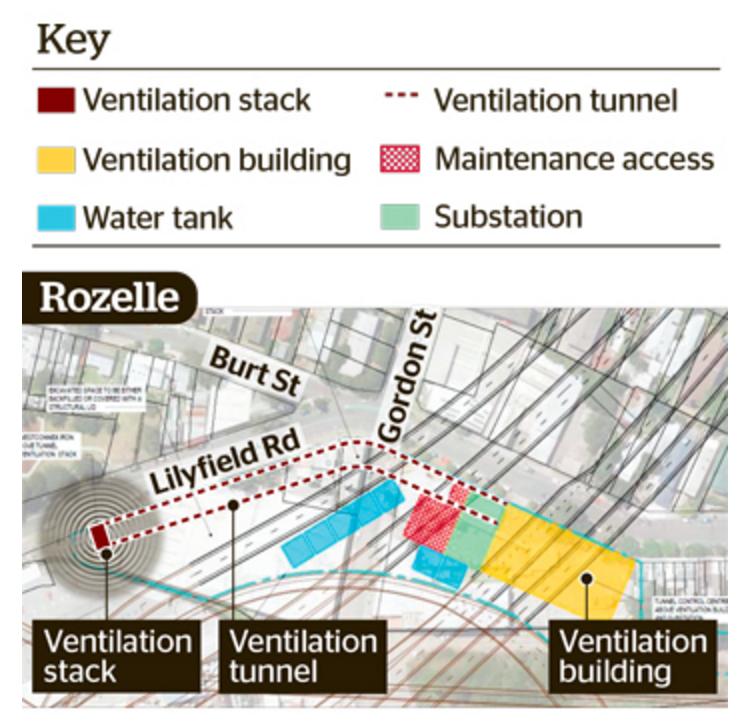 Rozelle / Lilyfield stack plans