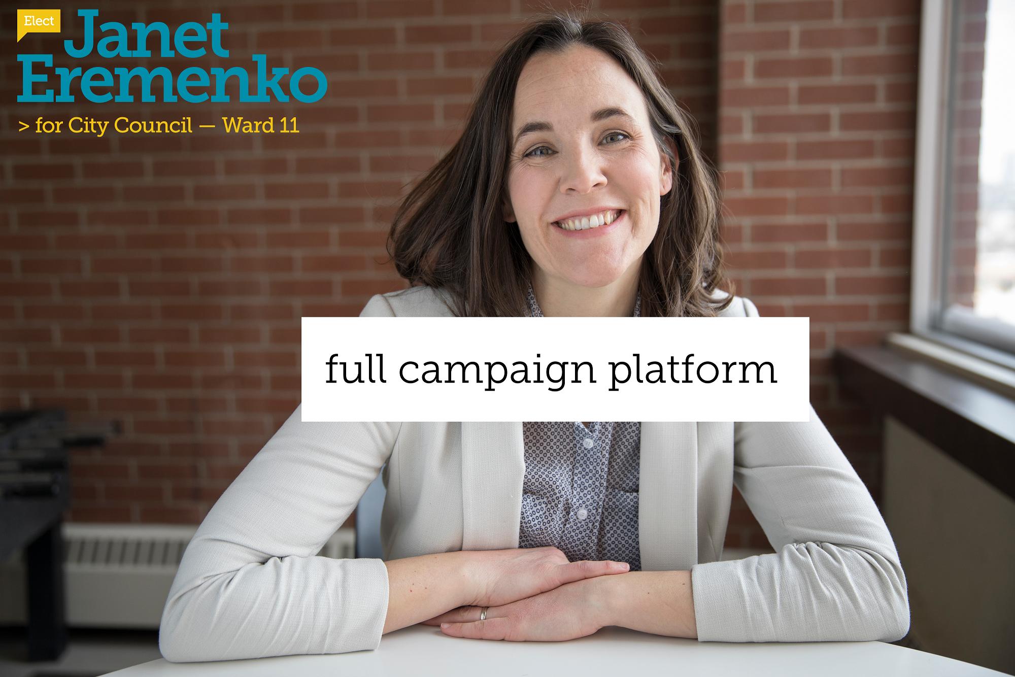 Janet Eremenko full platform