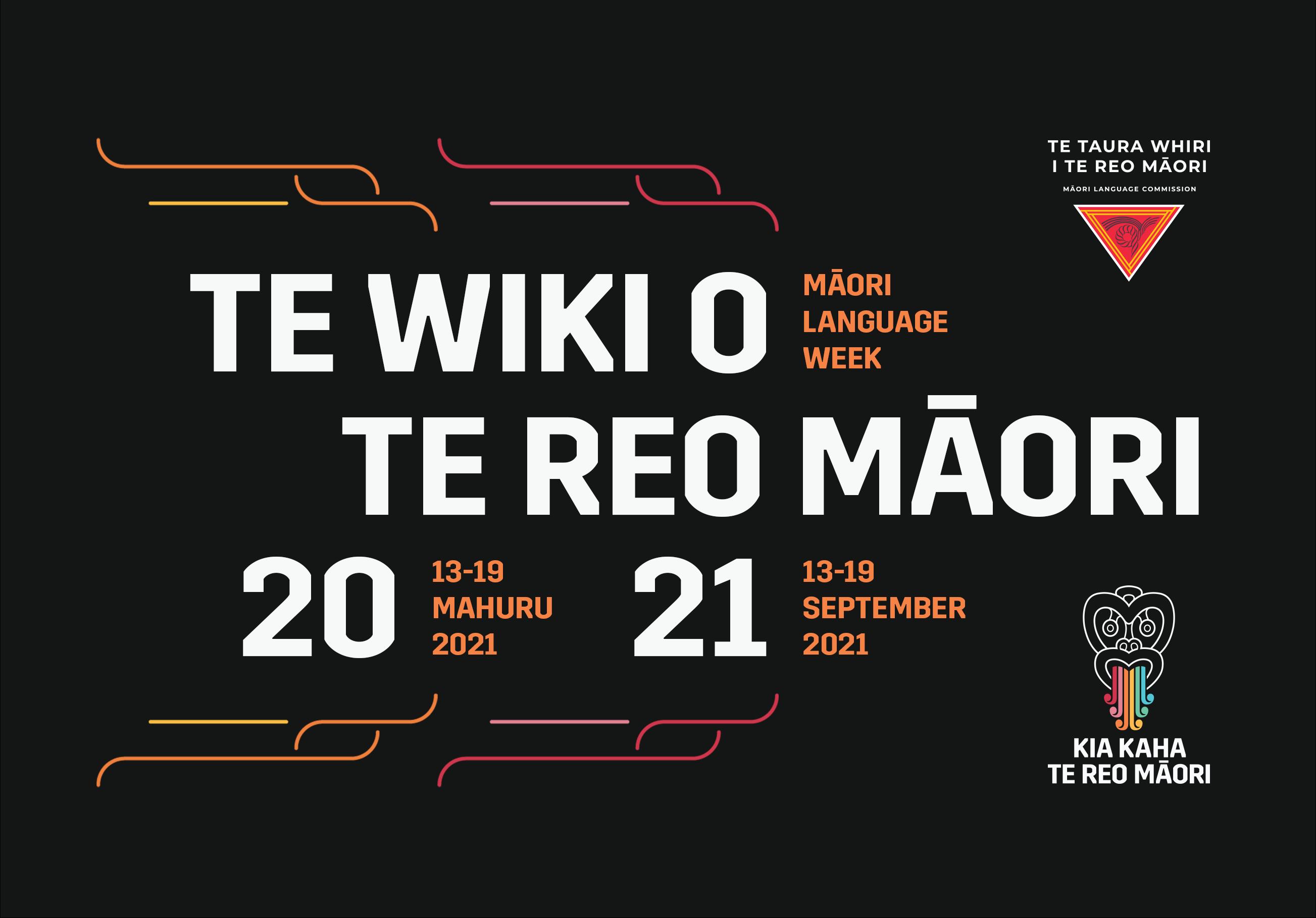 Photo of Te Wiki o te Reo Māori 2021
