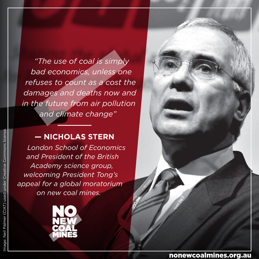 Nicholas Stern testimonial