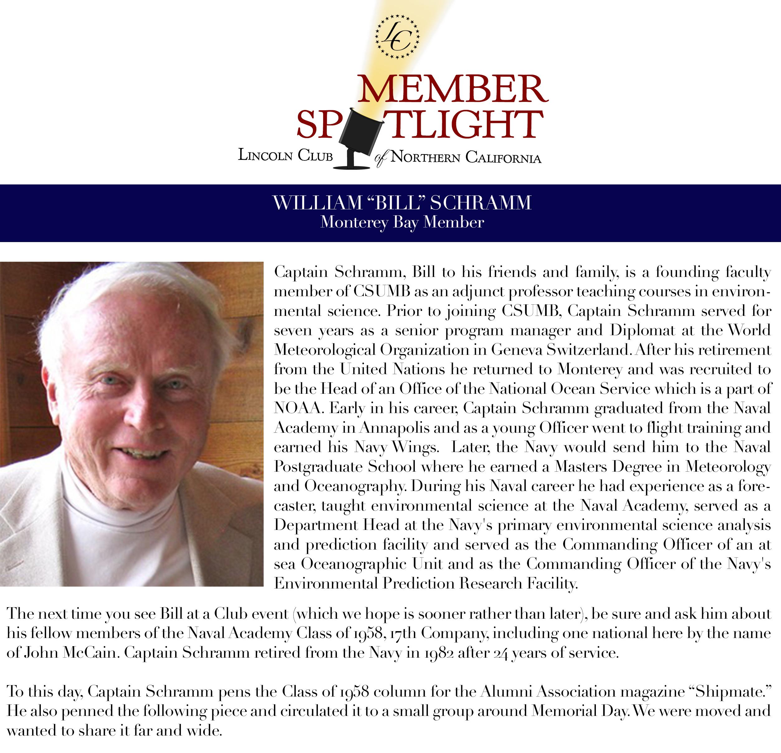 Bill Schramm Bio