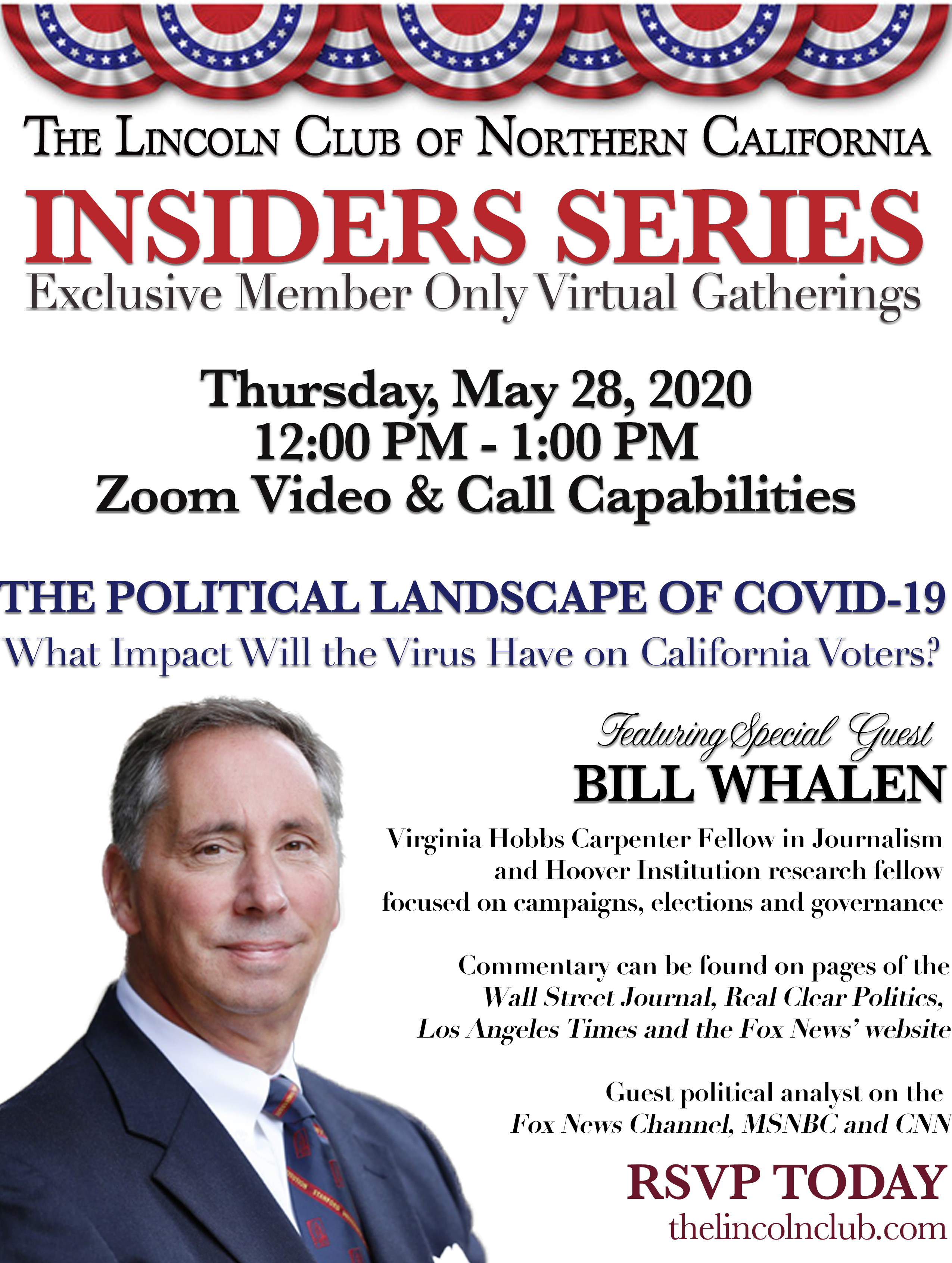 Insiders Series with Bill Whalen Invite