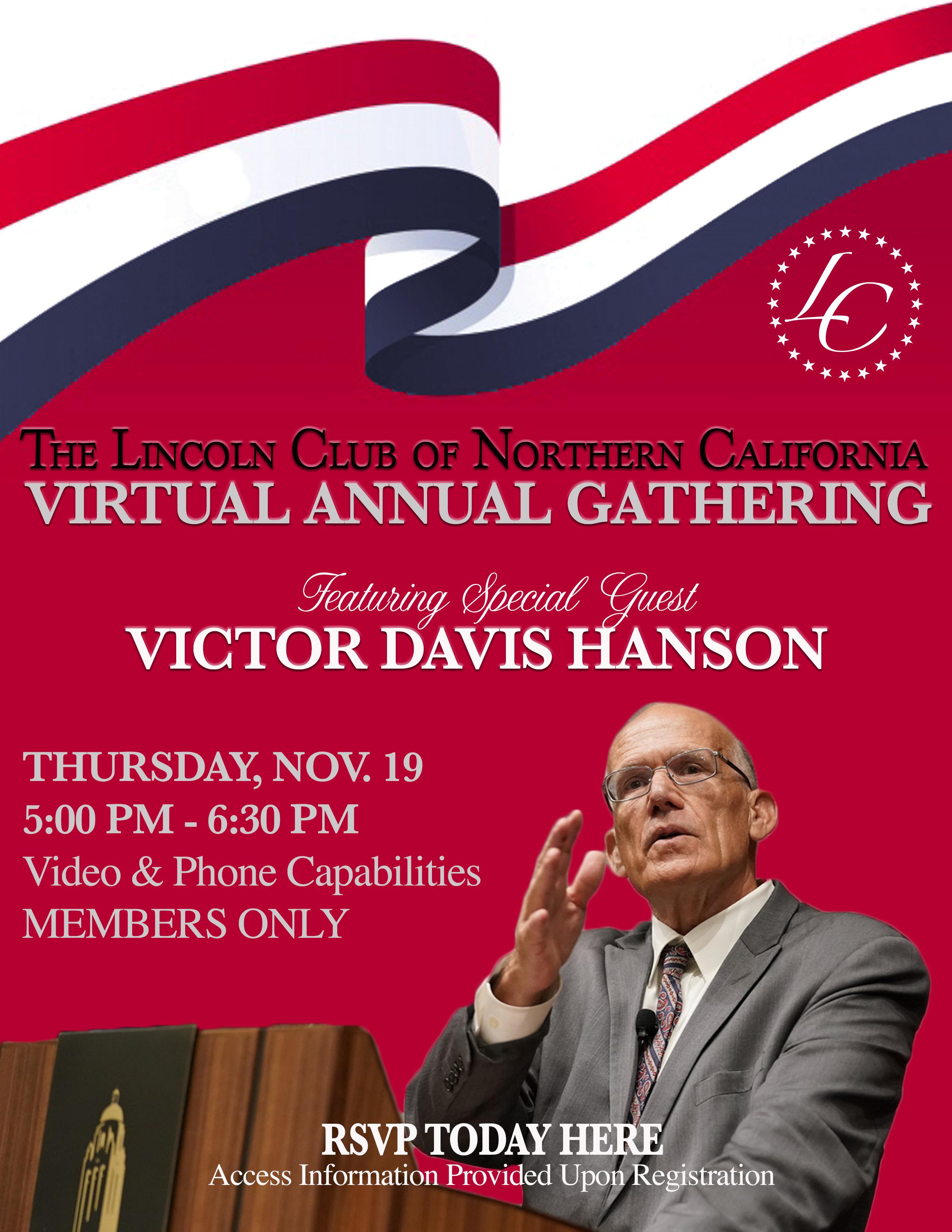 Lincoln Club Virtual Gathering