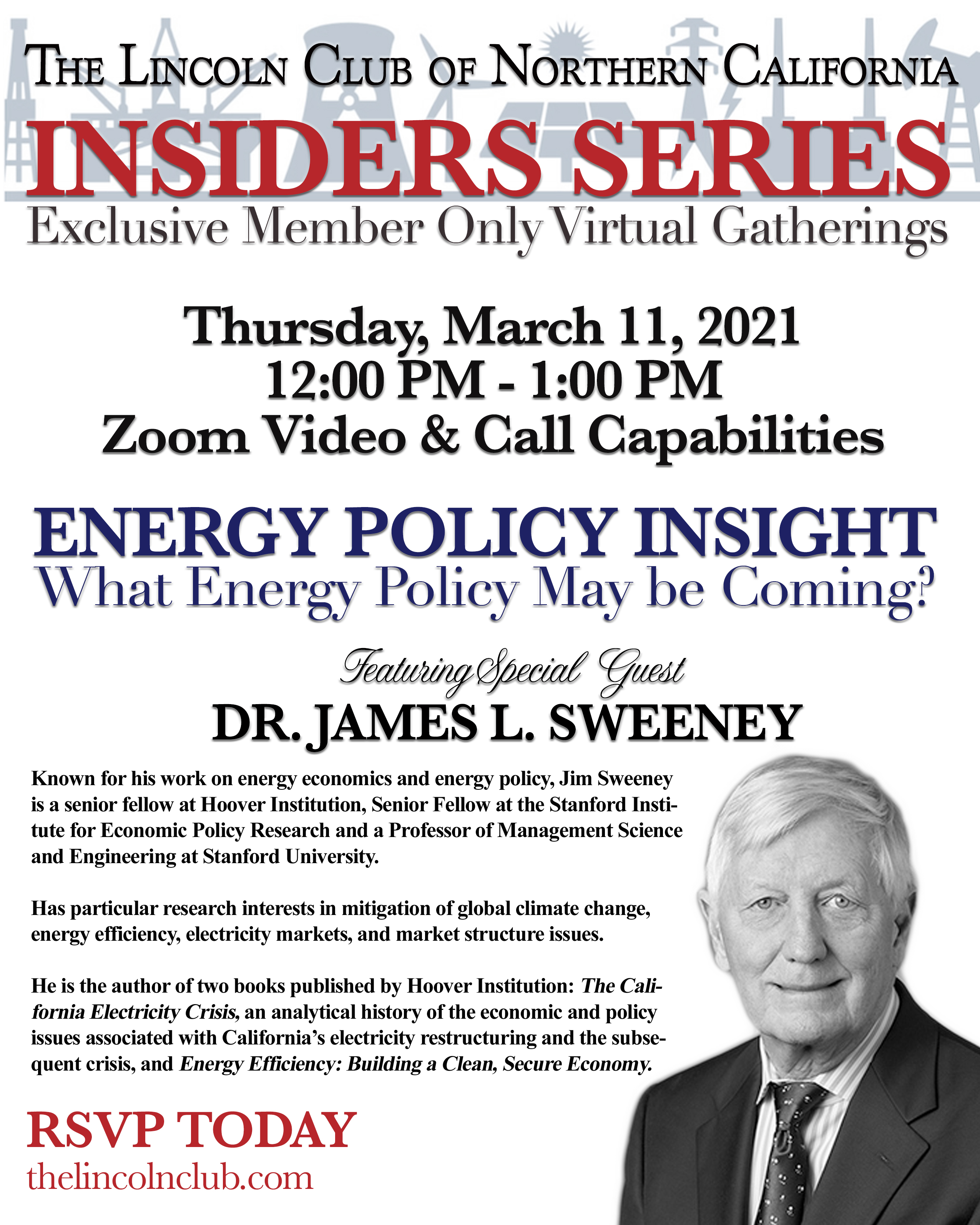 Insiders Series with Dr. James Sweeney