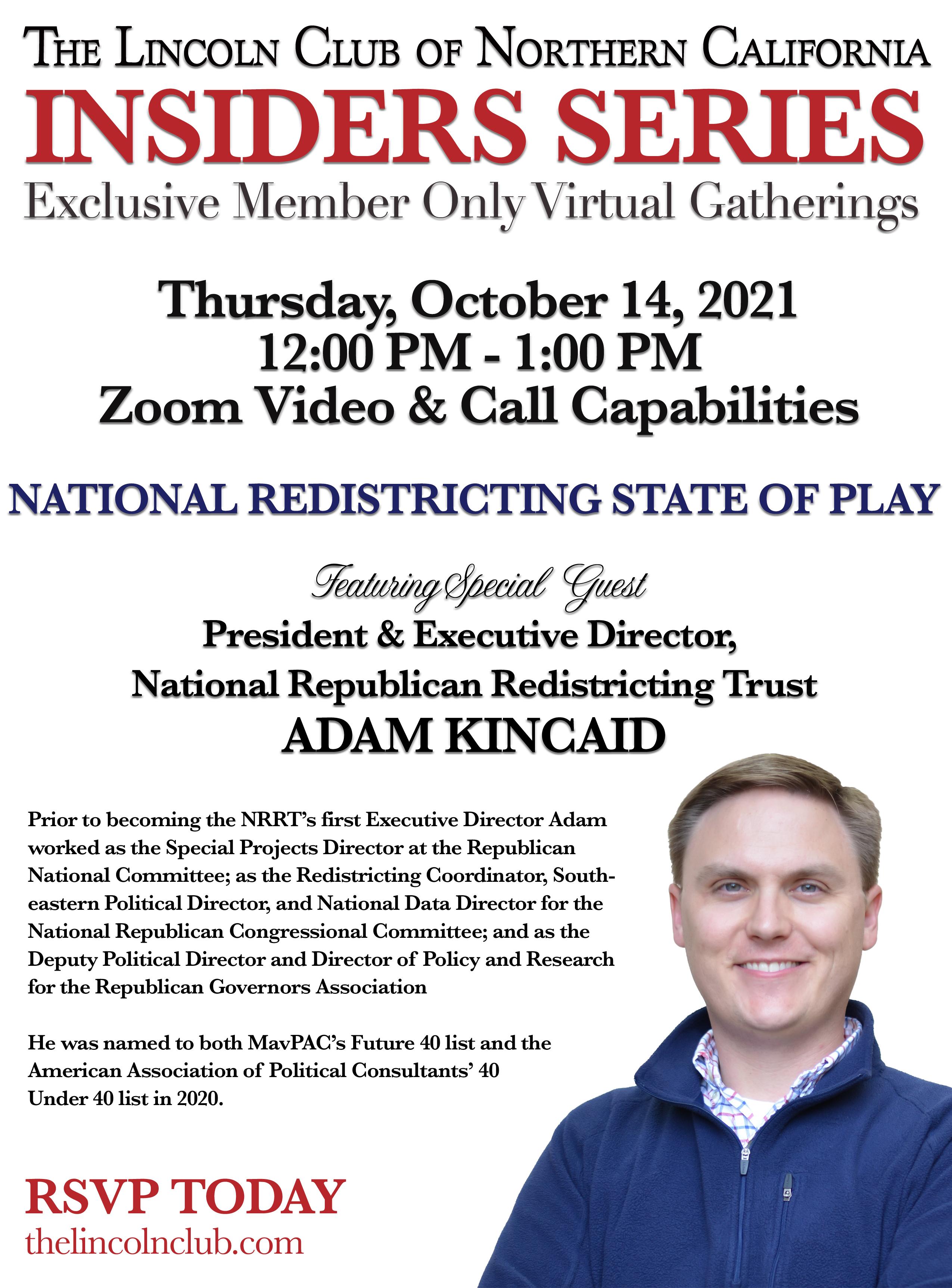Insiders Series with Adam Kincaid