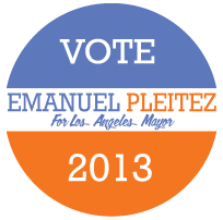 Pleitez for LA Logo
