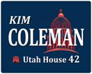 Kim Coleman,  Utah House 42