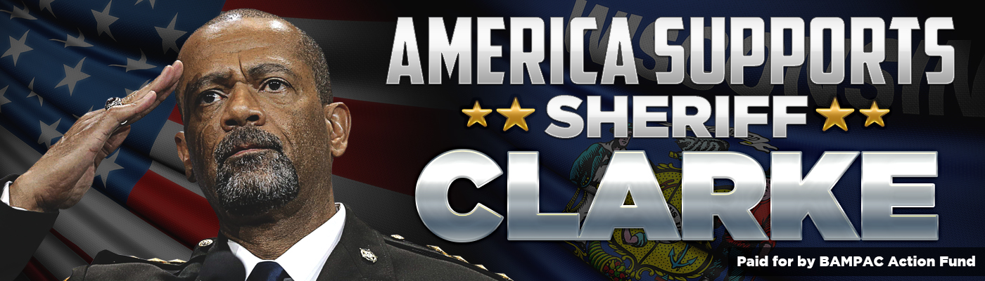 Help Sheriff Clarke Fight Back