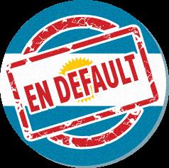 Nace el default