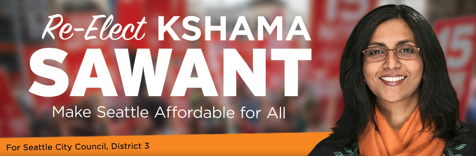Kshama Sawant Re-Election Campaign