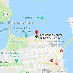 Fort Mason Center Map