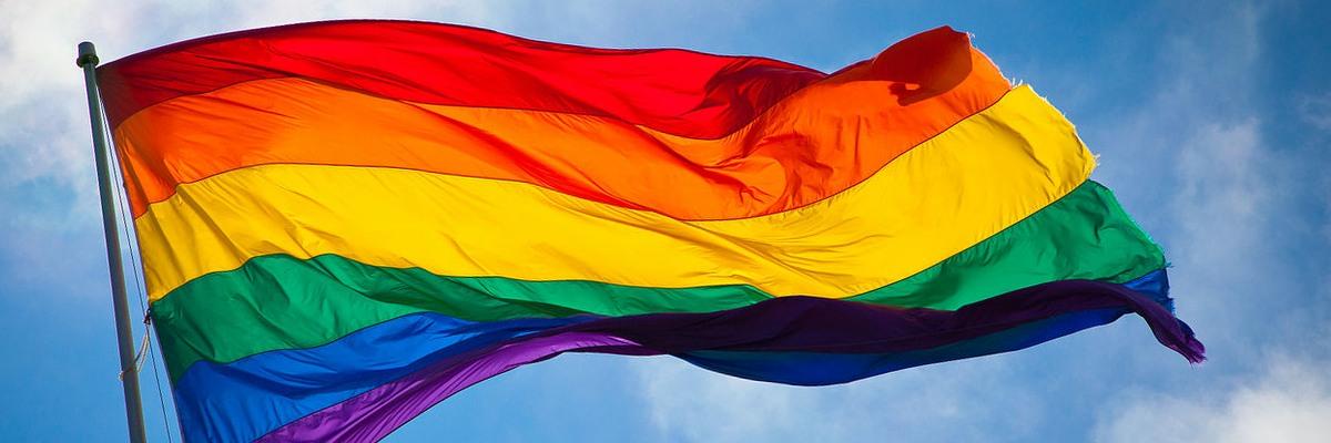 Pride flag. Image: Benson Kua.
