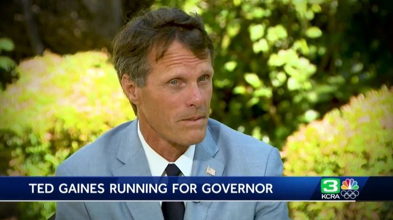 Ted Gaines interviewed on KCRA3