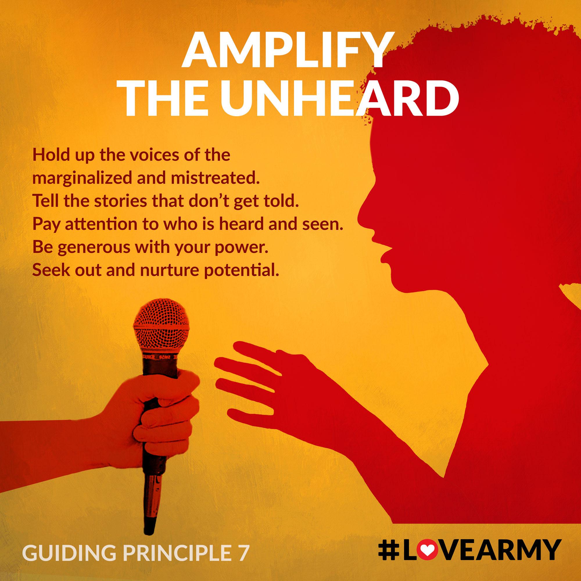 Amplify The Unheard