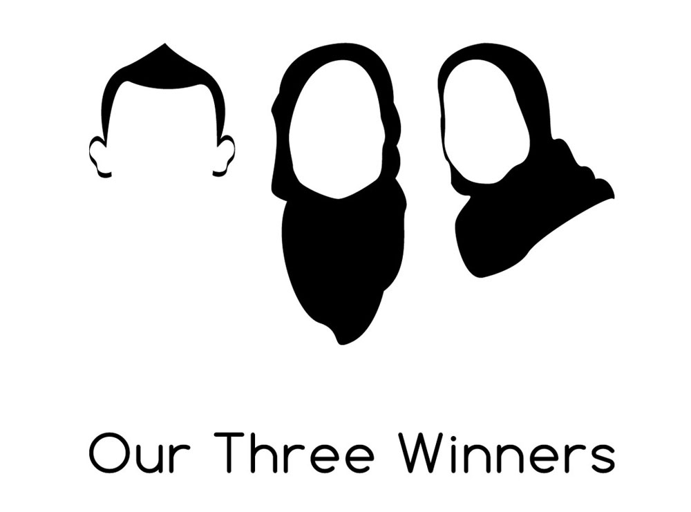 Our Three Winners