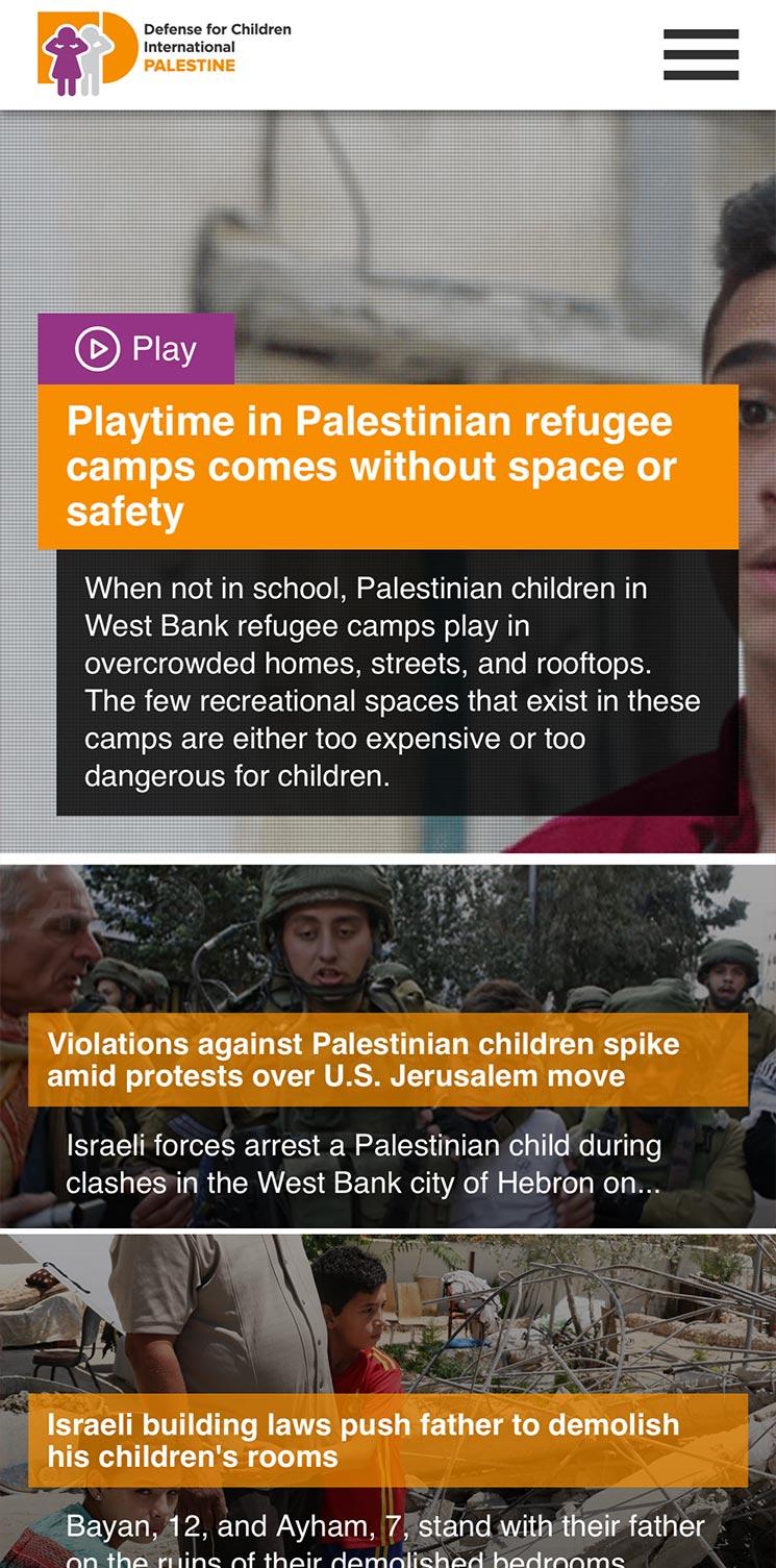 DCI - Palestine