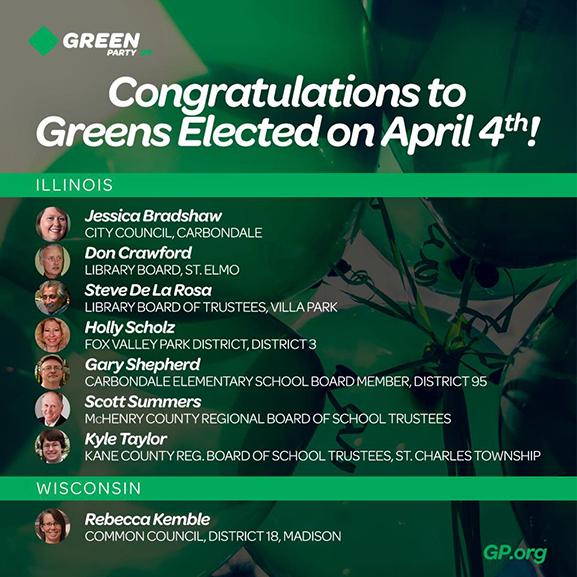 April Special Elections Report