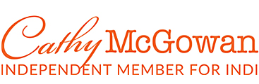 Cathy McGowan | Independant Member for Indi