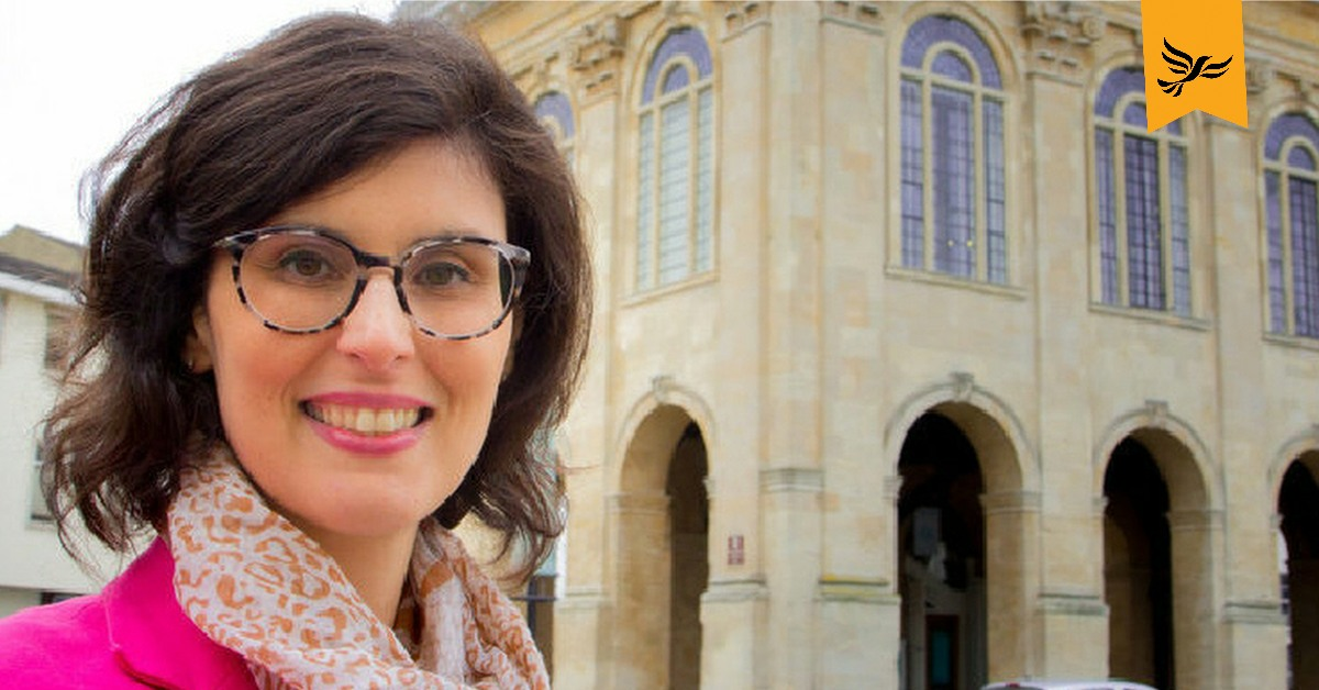 Layla Moran in Oxford. Links to: 1 in 2 local authorities to see cuts to per pupil funding this year