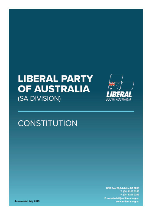 SA Liberal constitution