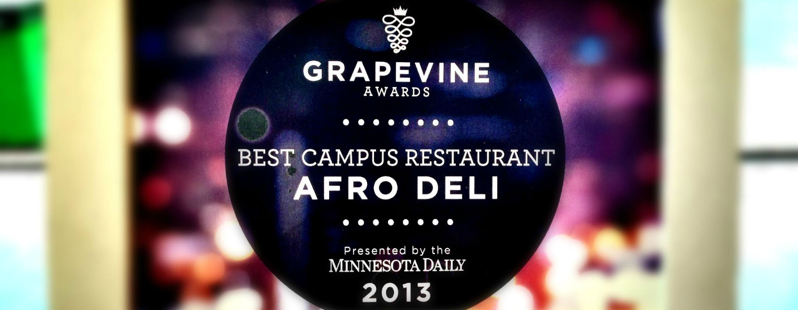 Afro Deli is the Best Restaurant on Campus 2013