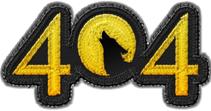 404 Badge Art