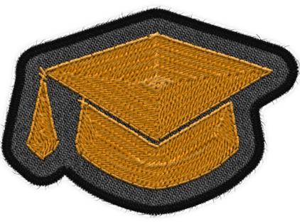 Graduate Badge Art