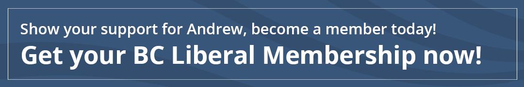 Get your BC Liberal Membership