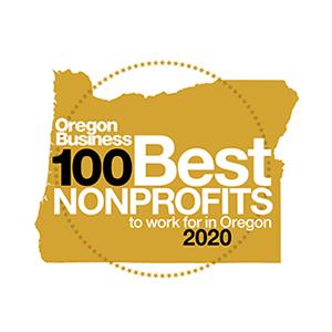 100 Best Nonprofits 2020 Badge
