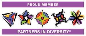 Partners in Diversity Proud Member Logo