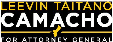 Leevin Taitano Camacho for Attorney General