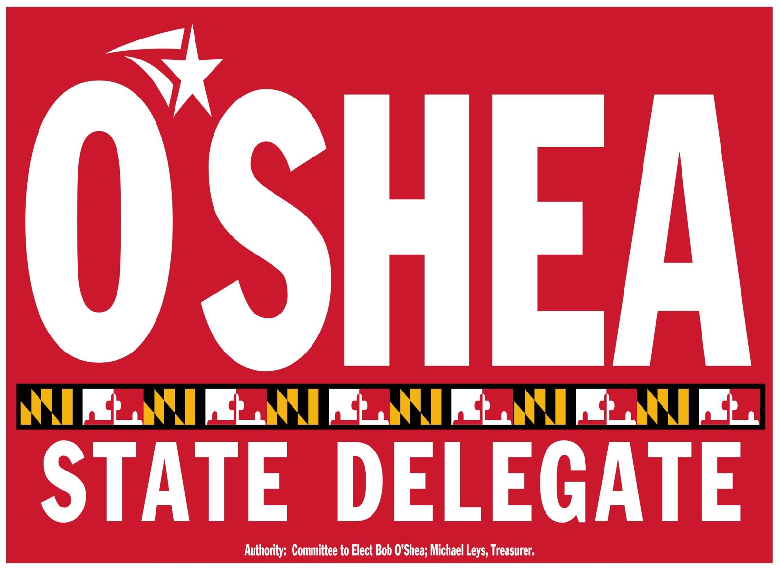 Bob O'Shea for Delegate, Maryland District 30A