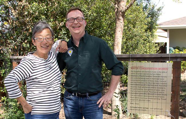 Cherryhill neighborhood water conservation tour