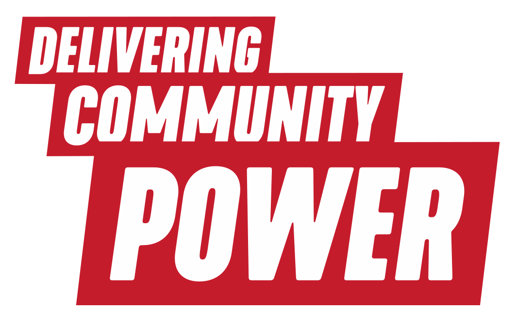 Delivering Community Power logo