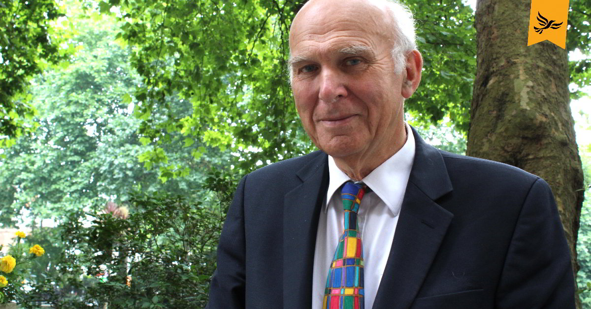Vince Cable. Links to: Chuka Umunna joins the Liberal Democrats