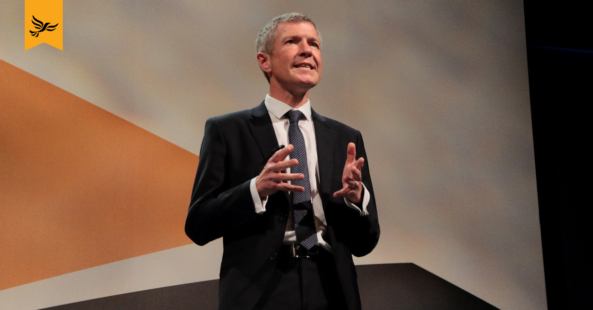Willie Rennie speaks at Lib Dem conference. Links to: Willie Rennie's conference speech
