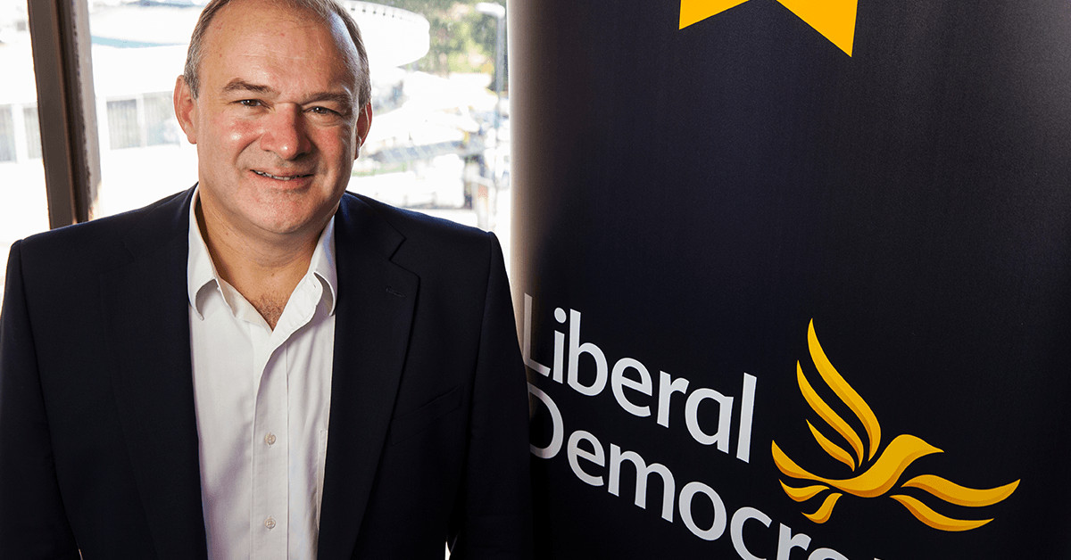 Ed Davey MP. Links to: I can't wait for our turn in the spotlight.