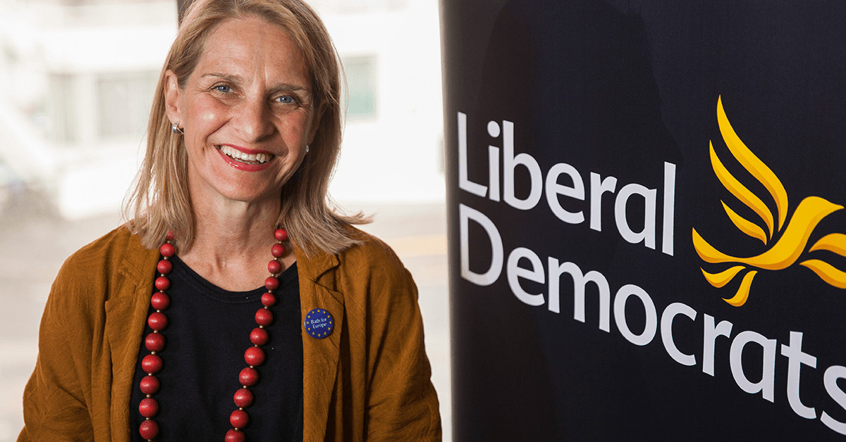 Wera Hobhouse MP. Links to: Wera Hobhouse's conference speech!